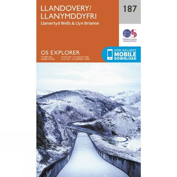 Explorer Map 187 Llandovery