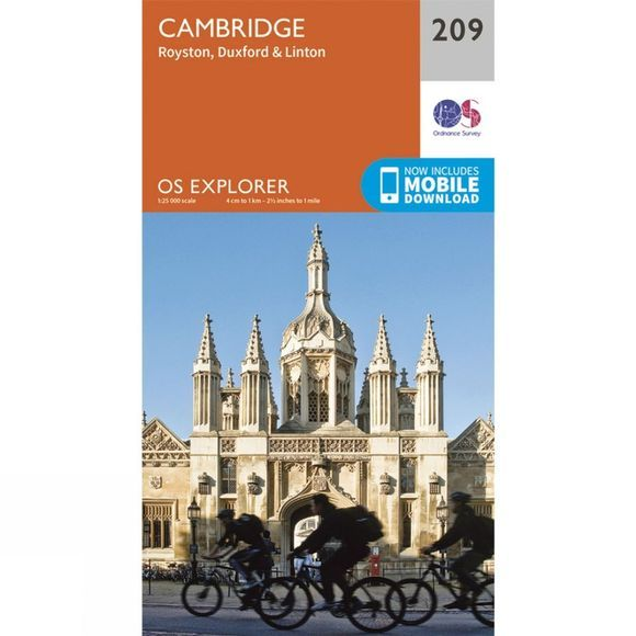 Explorer Map 209 Cambridge