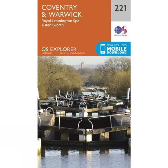 Explorer Map 221 Coventry and Warwick