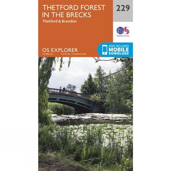 Explorer Map 229 Thetford Forest in the Brecks