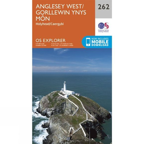 Ordnance Survey Explorer Map 262 Anglesey West V15