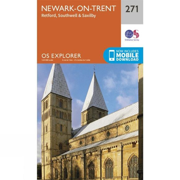 Explorer Map 271 Newark-on-Trent