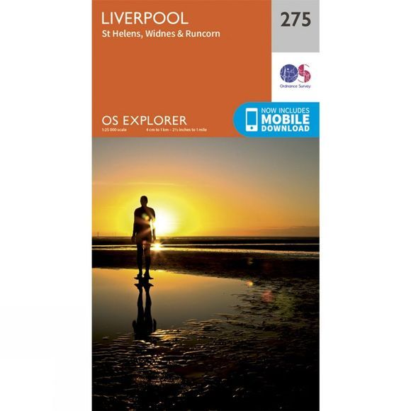 Explorer Map 275 Liverpool