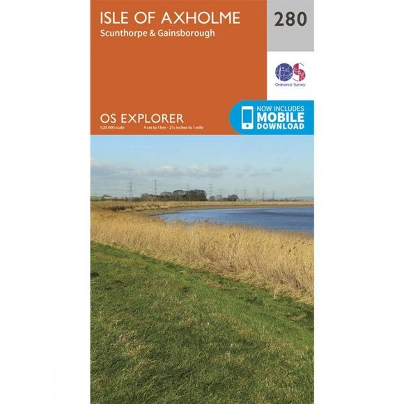 Ordnance Survey Explorer Map 280 Isle of Axholme V15