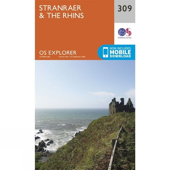 Explorer Map 309 Stranraer and The Rhins