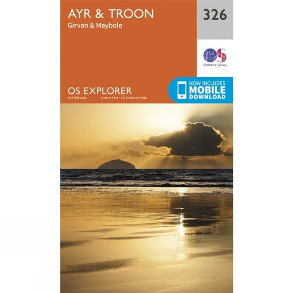 Explorer Map 326 Ayr and Troon