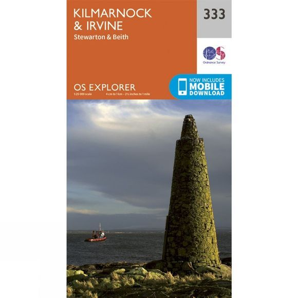 Explorer Map 333 Kilmarnock and Irvine