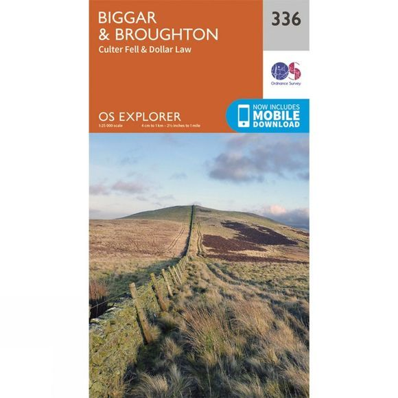Explorer Map 336 Biggar and Broughton