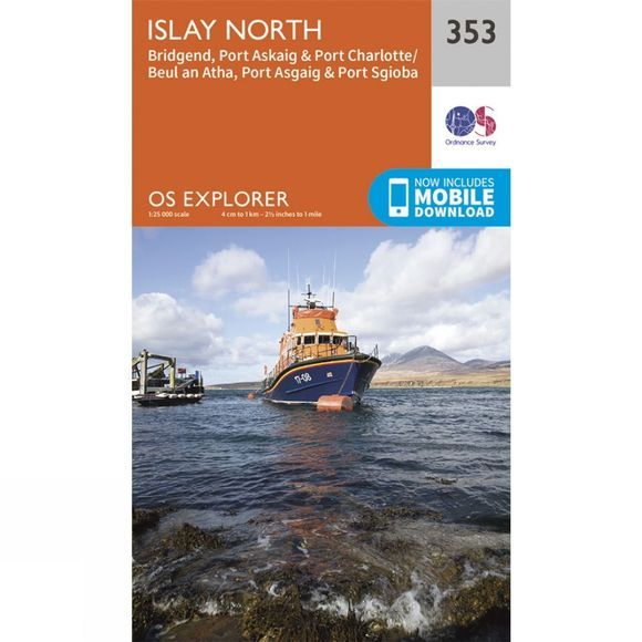 Explorer Map 353 Islay North