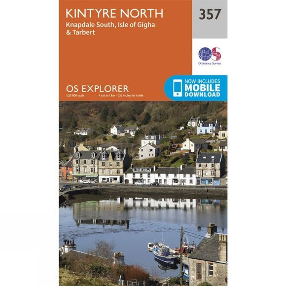 Explorer Map 357 Kintyre North