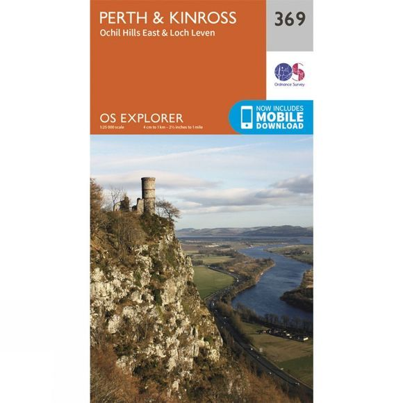 Ordnance Survey Explorer Map 369 Perth and Kinross V15