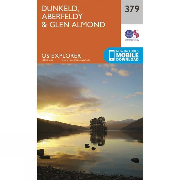 Explorer Map 379 Dunkeld, Aberfeldy and Glen Almond