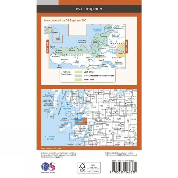 Explorer Map 390 Ardnamurchan