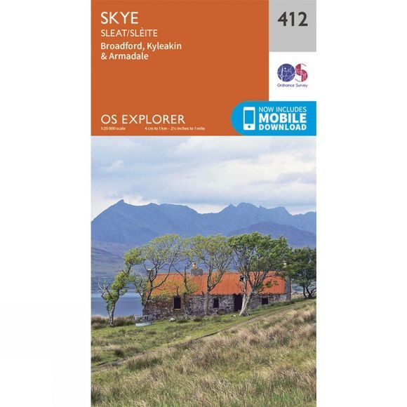 Explorer Map 412 Skye - Sleat