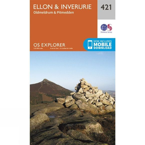 Explorer Map 421 Ellon and Inverurie