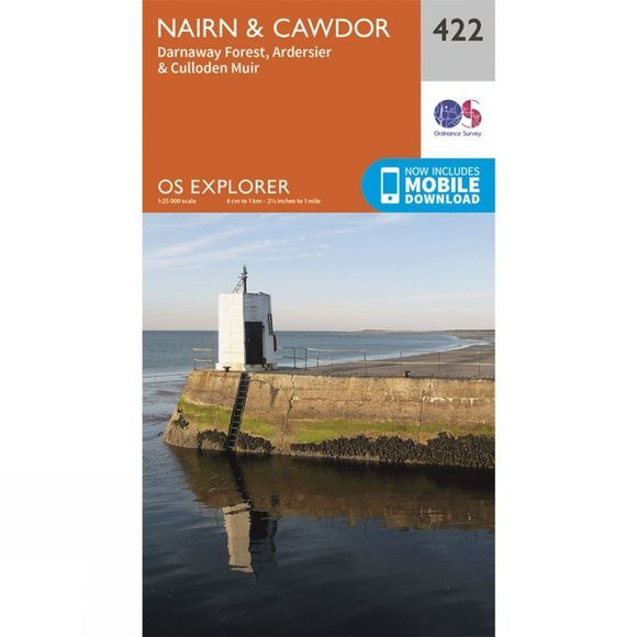 Explorer Map 422 Nairn and Cawdor