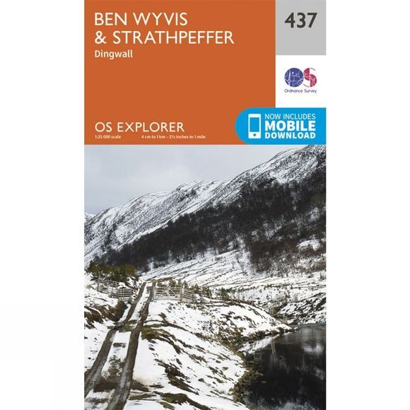 Explorer Map 437 Ben Wyvis and Strathpeffer