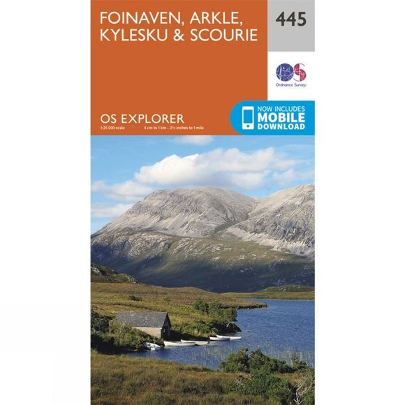 Explorer Map 445 Foinaven, Arkle, Kylesku and Scourie
