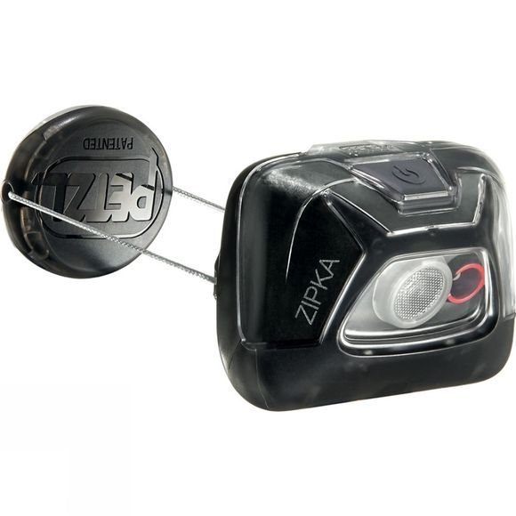 Petzl Zipka 200L Headtorch Black
