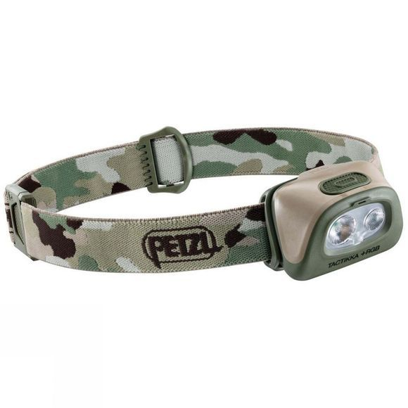 Petzl Tactikka +RGB Headtorch Camo