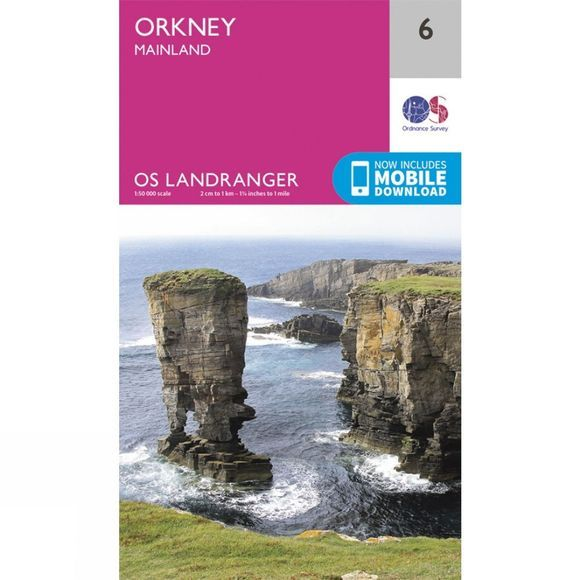 Landranger Map 06 Orkney - Mainland