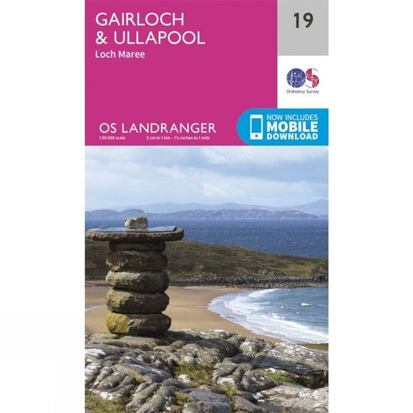 Landranger Map 19 Gairloch and Ullapool