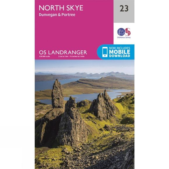 Landranger Map 23 North Skye