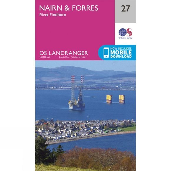 Landranger Map 27 Nairn and Forres