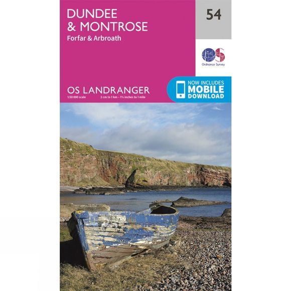 Landranger Map 54 Dundee and Montrose