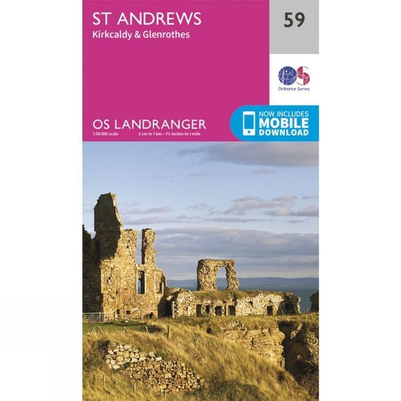 Landranger Map 59 St Andrews