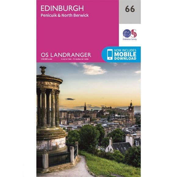 Landranger Map 66 Edinburgh