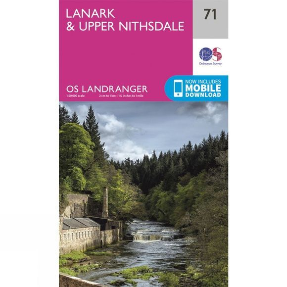 Landranger Map 71 Lanark and Upper Nithsdale