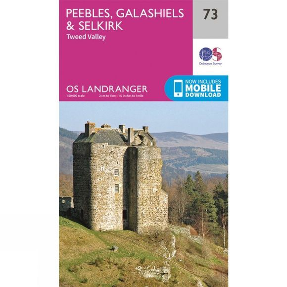 Landranger Map 73 Peebles, Galashiels and Selkirk