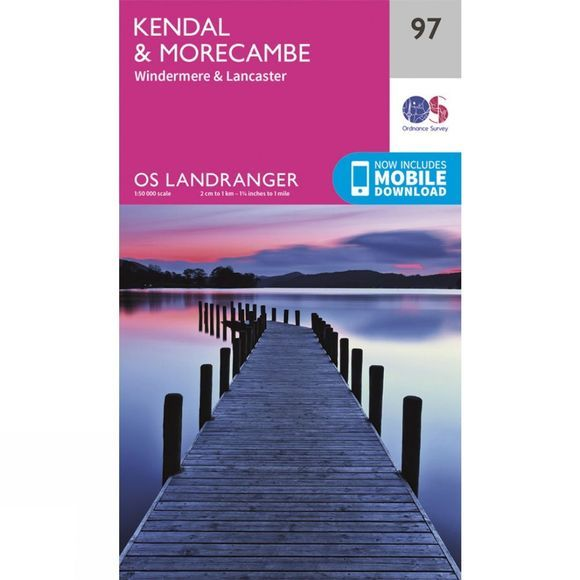 Landranger Map 97 Kendal and Morecambe