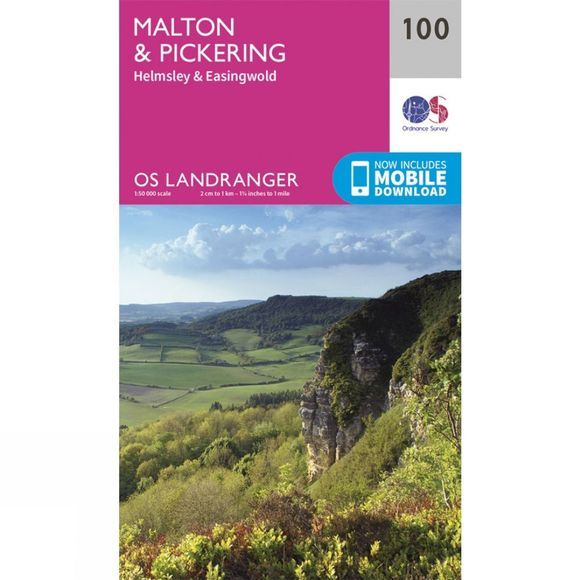 Landranger Map 100 Malton and Pickering