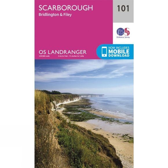 Landranger Map 101 Scarborough