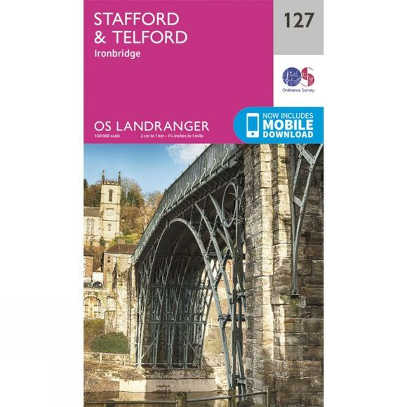 Landranger Map 127 Stafford and Telford