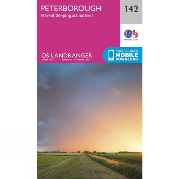 Landranger Map 142 Peterborough