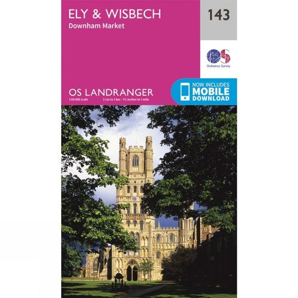 Landranger Map 143 Ely and Wisbech
