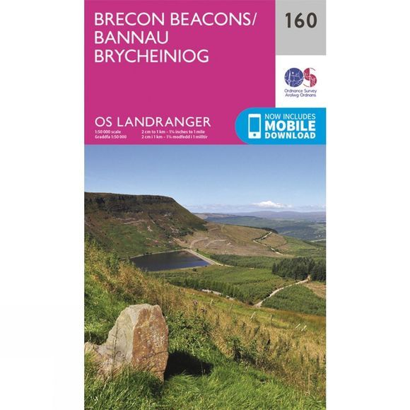 Landranger Map 160 Brecon Beacons