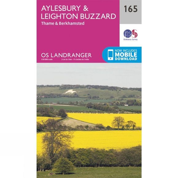 Landranger Map 165 Aylesbury and Leighton Buzzard