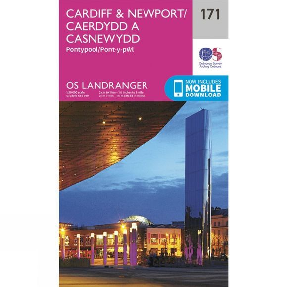 Landranger Map 171 Cardiff and Newport
