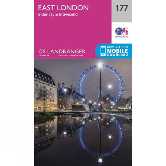 Landranger Map 177 London East