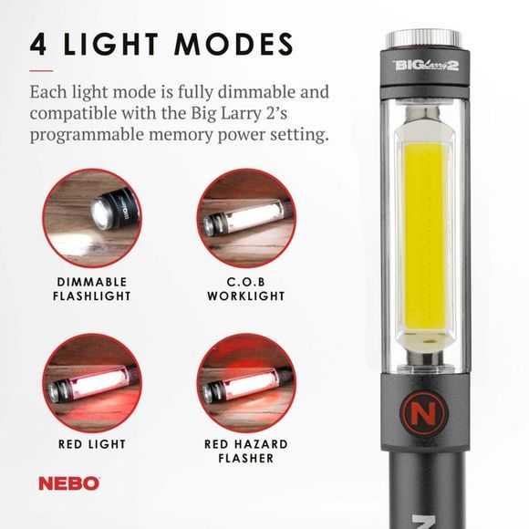 Nebo Big Larry 2 Torch Assorted