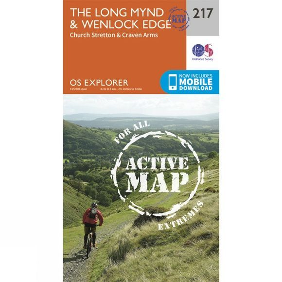 Active Explorer Map 217 The Long Mynd and Wenlock Edge
