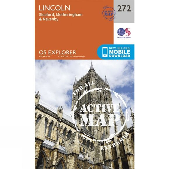 Active Explorer Map 272 Lincoln