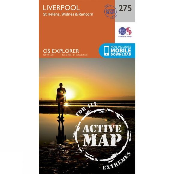 Active Explorer Map 275 Liverpool