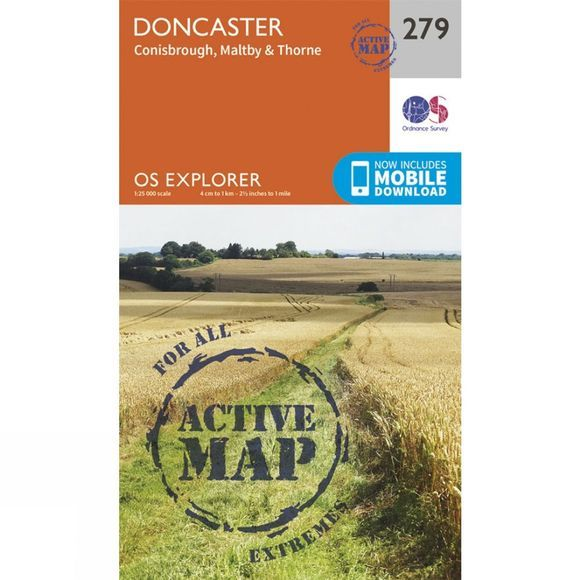 Active Explorer Map 279 Doncaster