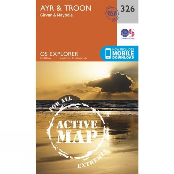 Active Explorer Map 326 Ayr and Troon
