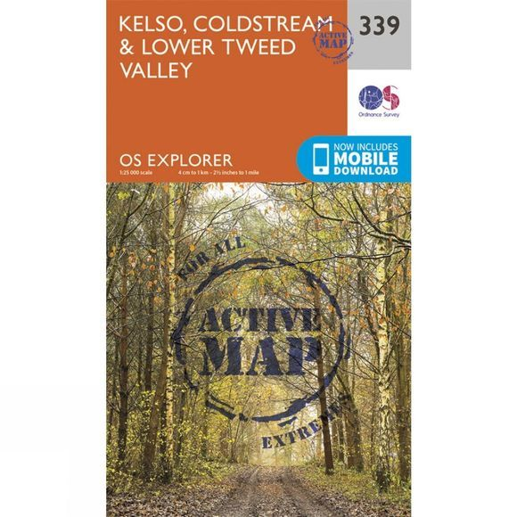 Active Explorer Map 339 Kelso, Coldstream and Lower Tweed Valley